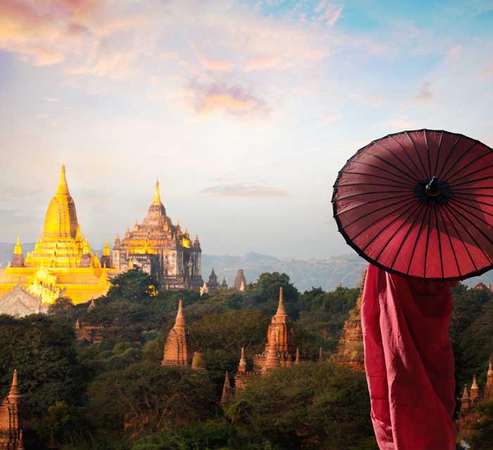 Viajes en grupo a Myanmar