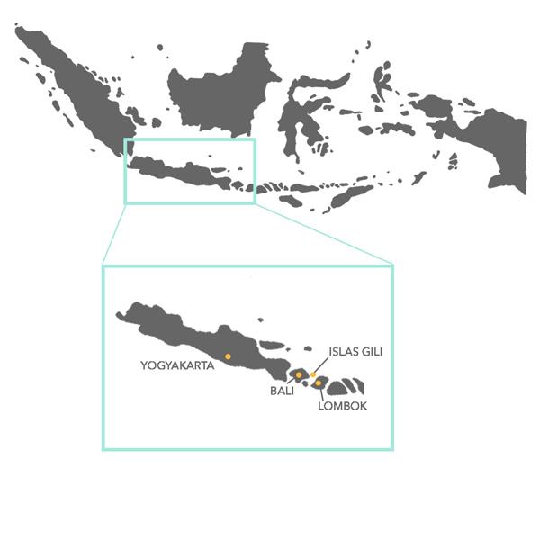 Viaje organizado indonesia