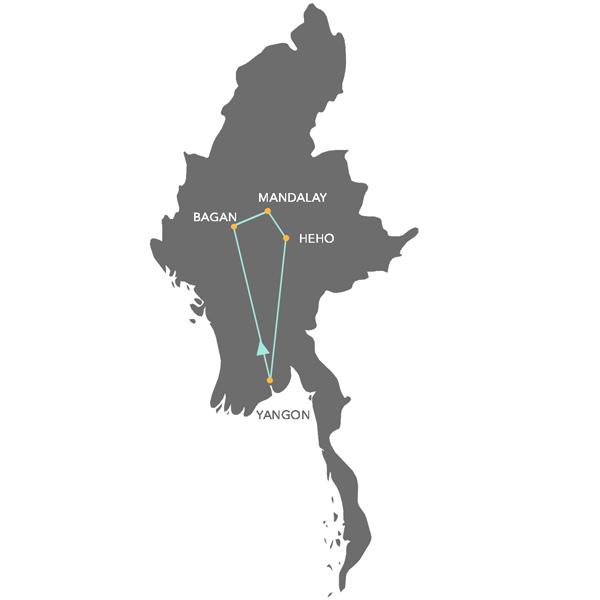 Viaje organizado a Myanmar