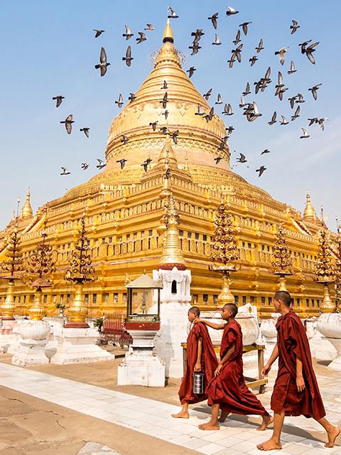 Viaje en grupo a Myanmar
